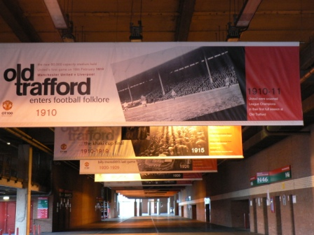 Stadion Old Trafford, Manchester