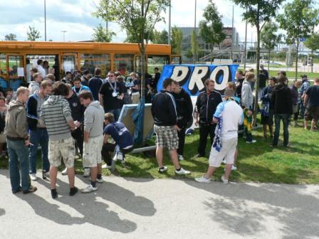 Weißwurstfrühstück von PRO1860 am Streetworkbus (2010)