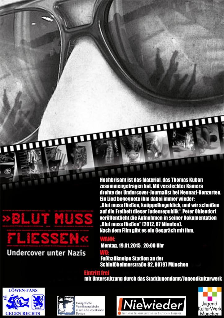 """Filmvorführung """"Blut muss fließen"""" (Januar 2015)"""